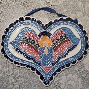 J. Duban Designs tile heart